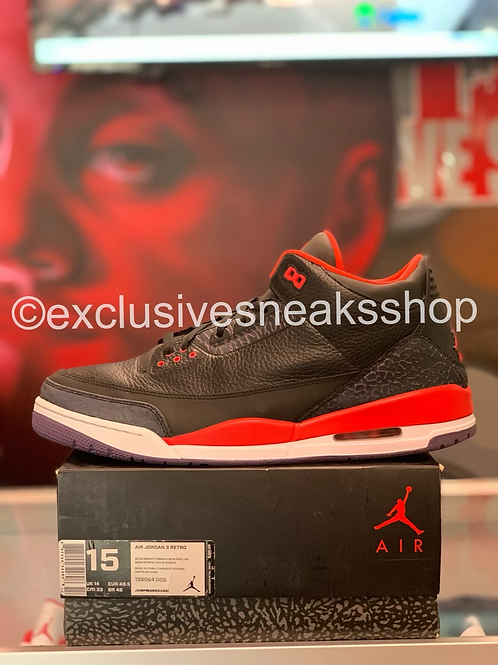 """Air Jordan 3 Retro """"Crimson"""""""