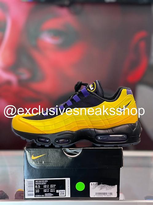 """Nike Air Max 95 """"Lebron Lakers"""""""