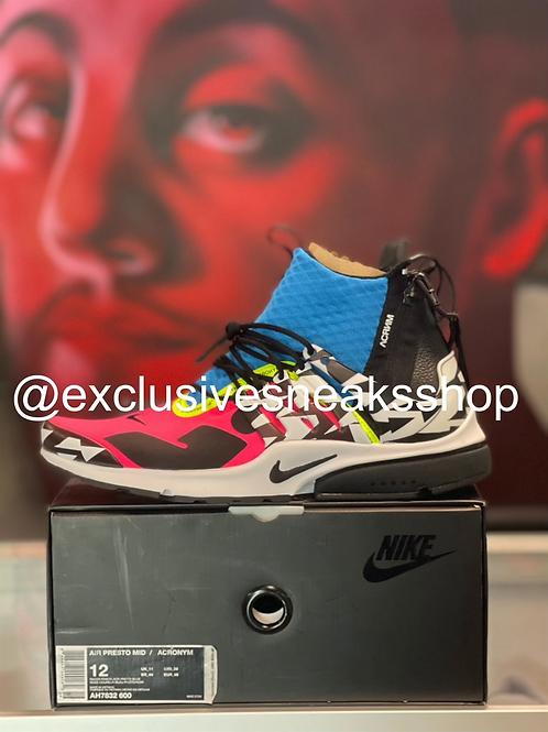 "Nike Air Presto Mid ""Acronym Racer Pink"""