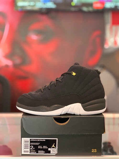 "Air Jordan 12 Retro ""Reverse Taxi"" (PS)"