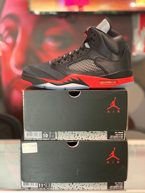 "Air Jordan 5 Retro ""Satin Bred"""