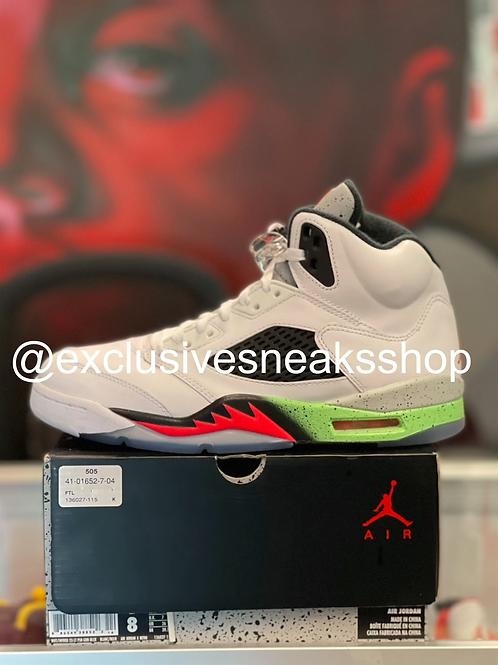 """Air Jordan 5 Retro """"Poison Green"""""""