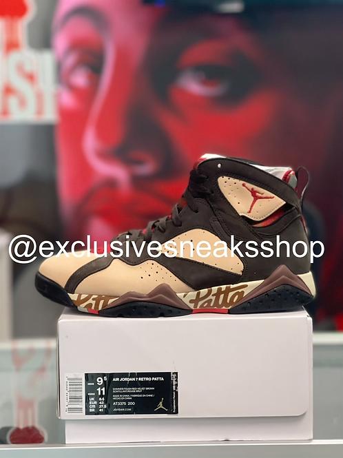 """Air Jordan 7 Retro """"Patta Shimmer"""""""
