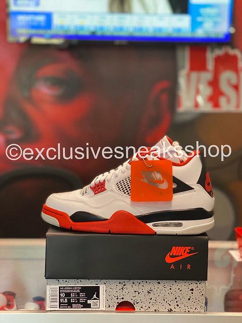 "Air Jordan 4 Retro ""Fire Red"""