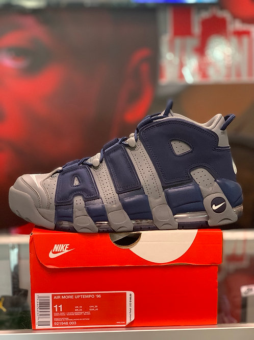 """Air More Uptempo """"Cool Grey Midnight Navy"""""""