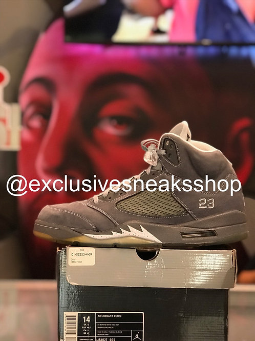 """Air Jordan 5 Retro """"Wolf Grey"""""""