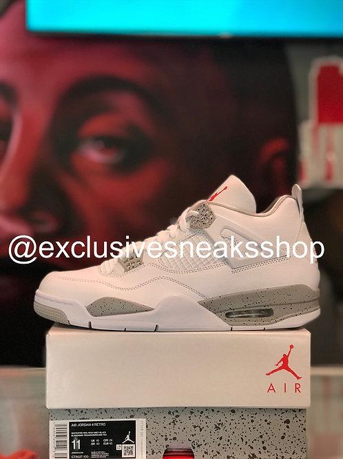 """Air Jordan 4 Retro """"White Oreo"""""""