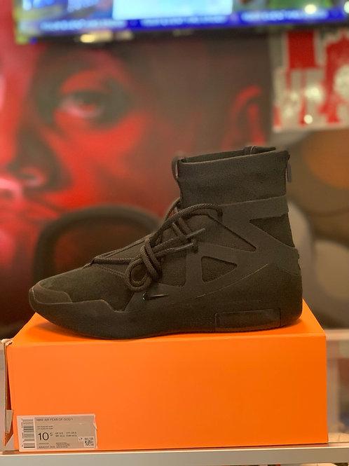 """Nike Fear Of God 1 """"Triple Black """""""