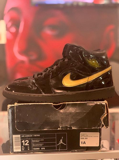 "Air Jordan 1 Retro ""Metallic Gold"""