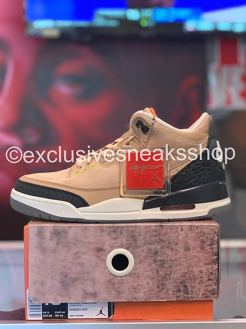 "Air Jordan 3 Retro ""JTH Bio Beige"""