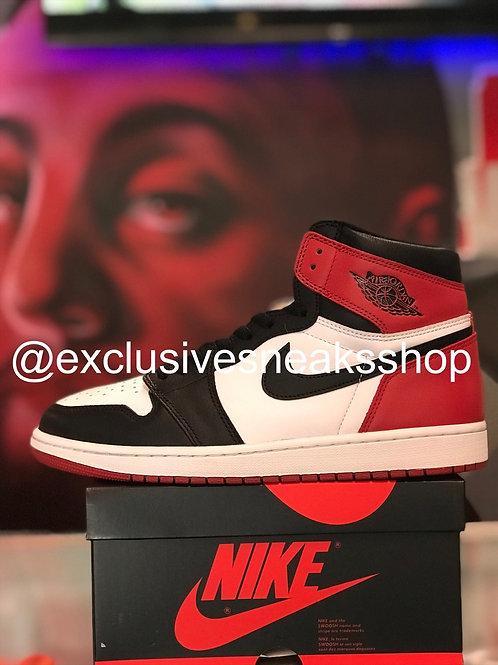 """Air Jordan 1 Retro """"Black Toe"""""""