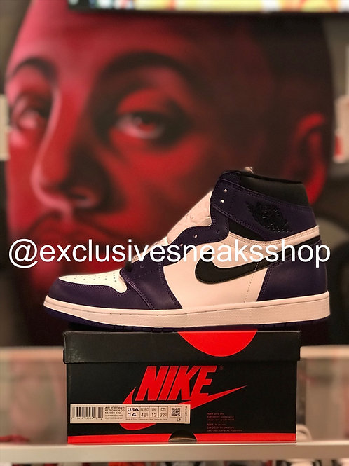 """Air Jordan 1 Retro """"Court Purple 2.0"""""""