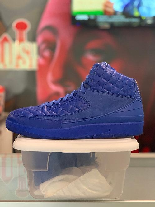 "Air Jordan 2 Retro ""Just Don Blue"""
