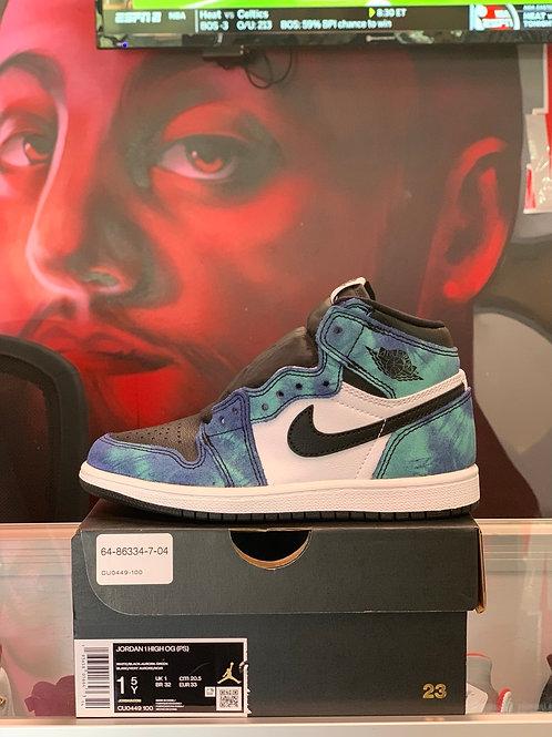 "Air Jordan 1 Retro ""Tie Dye"" (PS)"