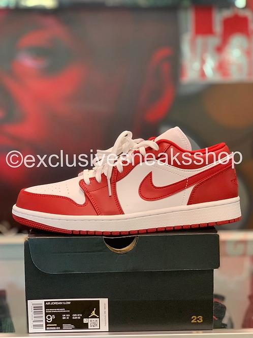 """Air Jordan 1 Low """"Gym Red White"""""""