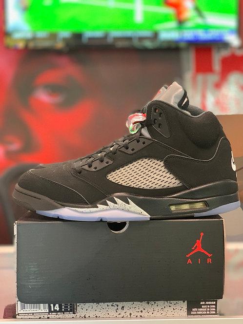 """Air Jordan 5 Retro """"Black Metallic"""""""