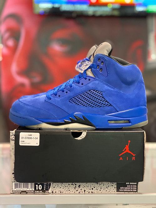 "Air Jordan 5 Retro ""Blue Suede"""