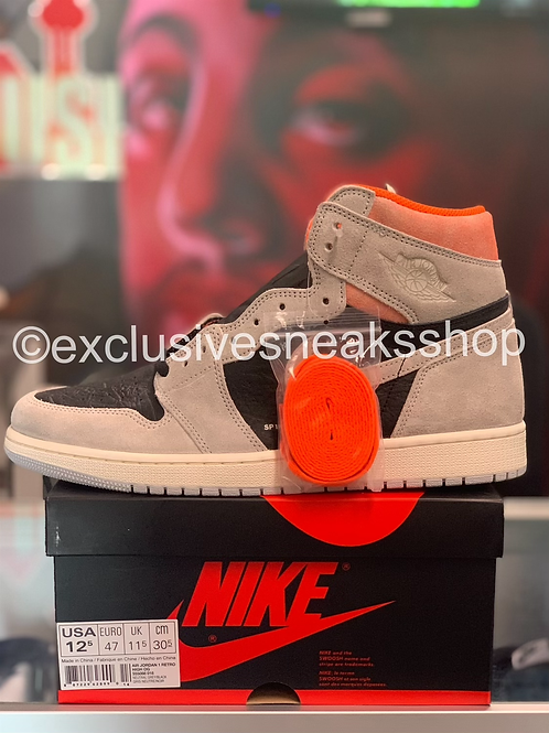 "Air Jordan 1 Retro ""Neutral Grey Hyper Crimson """
