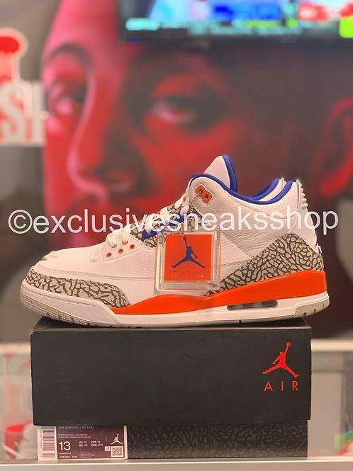 """Air Jordan 3 Retro """"Knicks"""""""