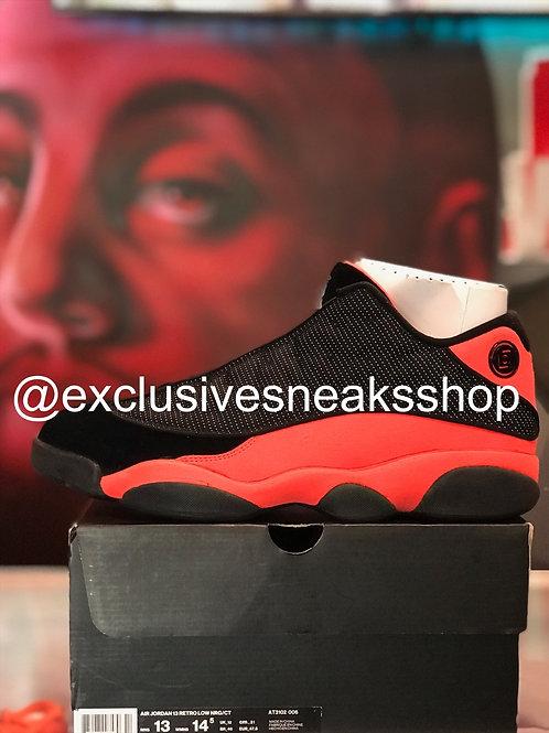 """Air Jordan 13 Retro Low """"Clot Black Red"""""""