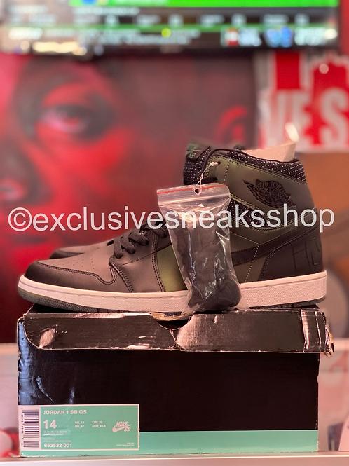 "Air Jordan 1 SB ""Craig Stecyk Black Silver"""