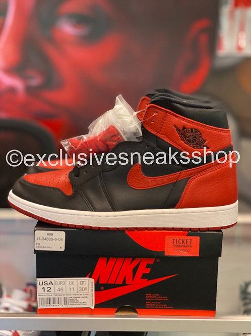 "Air Jordan 1 Retro ""Bred"""