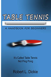 front cover - Table Tennis A Handbook fo