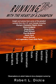 front cover - running with the heart of