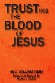 front cover - Trusting The Blood of Jesu