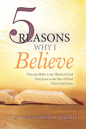 front cover - Five Reasons why I Believe