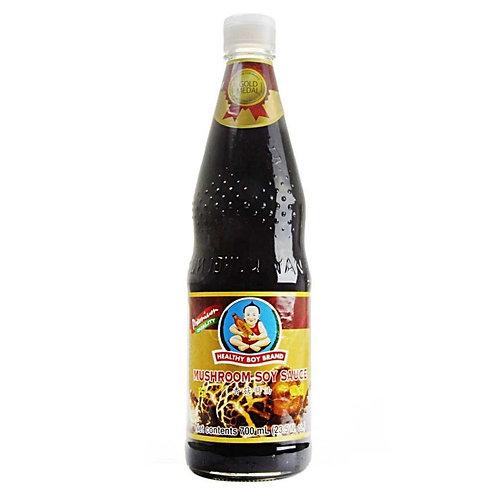 SS004 Mushroom Soy Sauce - ซีอิ๊วขาวสูตรเห็ดหอมตราเด็กสมบูรณ์ (草菇酱油)