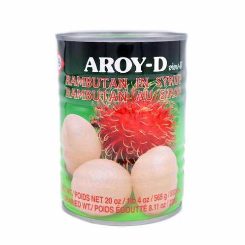 CN006 Rambutan in Syrup - เงาะกระป๋อง (罐头红毛丹)