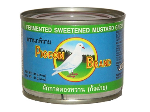 CN002 Fermented Sweetened Mustard - ผักกาดดองหวาน (醋菜)