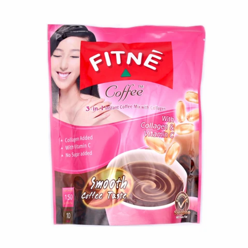 DR007 Fitne Coffee with Collagen - ฟิตเน่ กาแฟผสมคอลลาเจน(较原蛋白咖啡包)