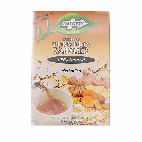 DR010  Turmeric&GingerTea - ชาสมุนไพรสูตรขมิ้นและขิง(姜黄姜草药茶包)