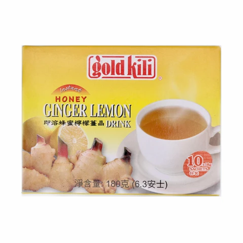 DR022 Honey Ginger & Lemon - เครื่องดื่มน้ำผึ้งและขิงผสมมะนาว(蜂蜜姜柠檬汁)