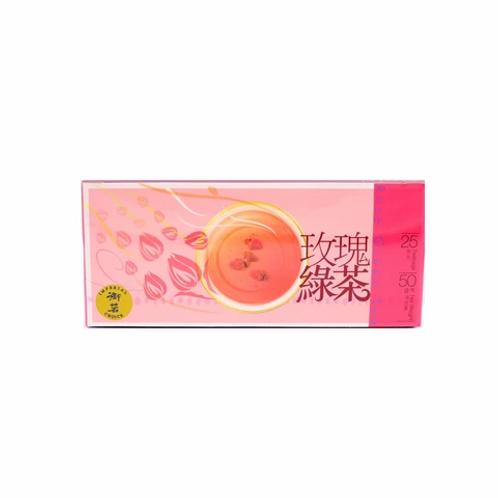 DR008 Rose Green Tea - ชากุหลาบ(玫瑰绿茶包)