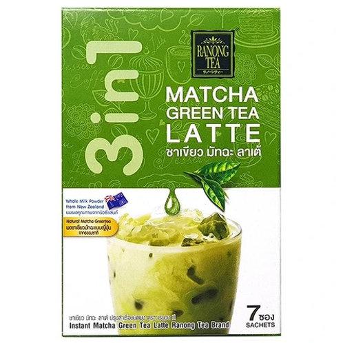 DR029  Green Tea Matcha Latte - ชาเขียวมัทฉะลาเต้ (三合一绿茶包)