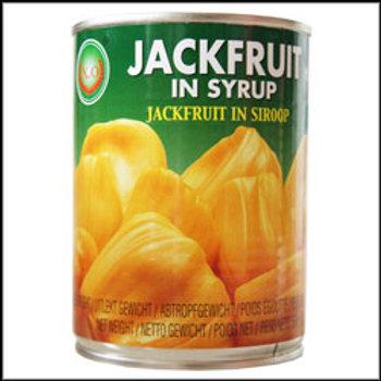 CN0025  Jack Fruit in Syrup - ขนุนกระป๋อง (罐头菠萝蜜)
