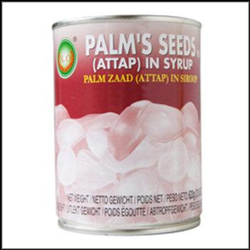 CN0024  Palm's Seeds In Syrup - ลูกชิดกระป๋อง (罐头粽榈果)