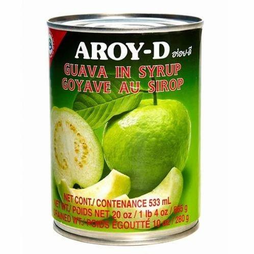 CN009  Guava In Syrup - ฝรั่งกระป๋อง (罐头番石榴)