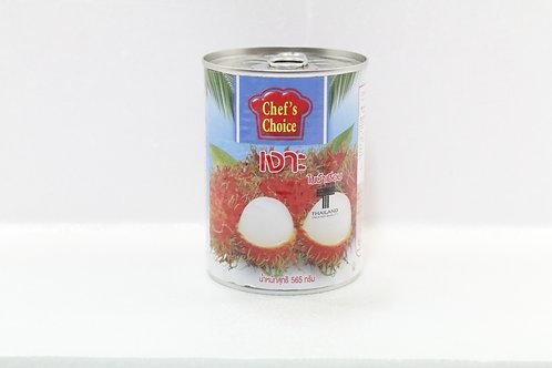 CN0014  Rambutan In Syrup - เงาะกระป๋อง (罐头红毛丹)