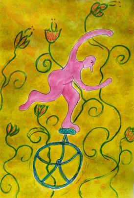 Monsieur Gum et le monocycle