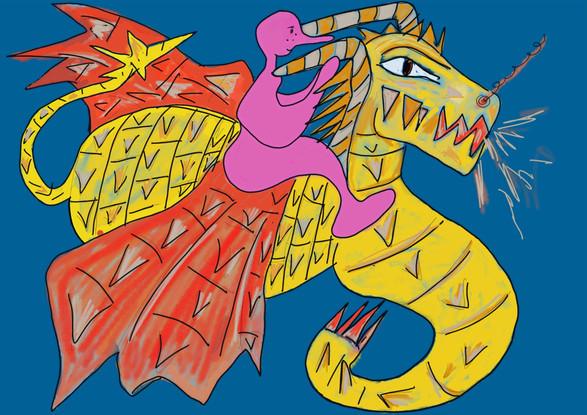 Monsieur Gum et le Dragon