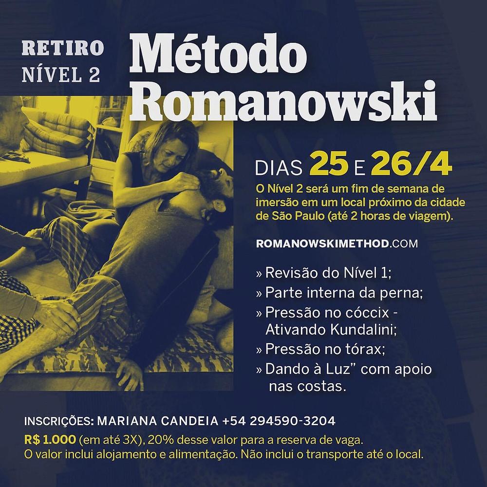 Retiro Nível 2 de Método Romanowski