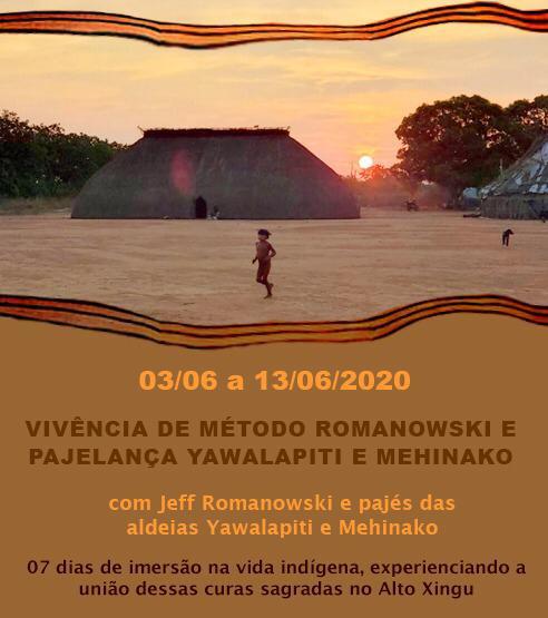 Vivência Romanowski com Pajelança Yawalapiti e Mehinako - junho 2020