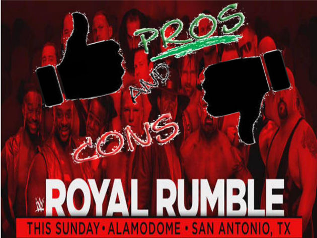 Pros and Cons: Royal Rumble