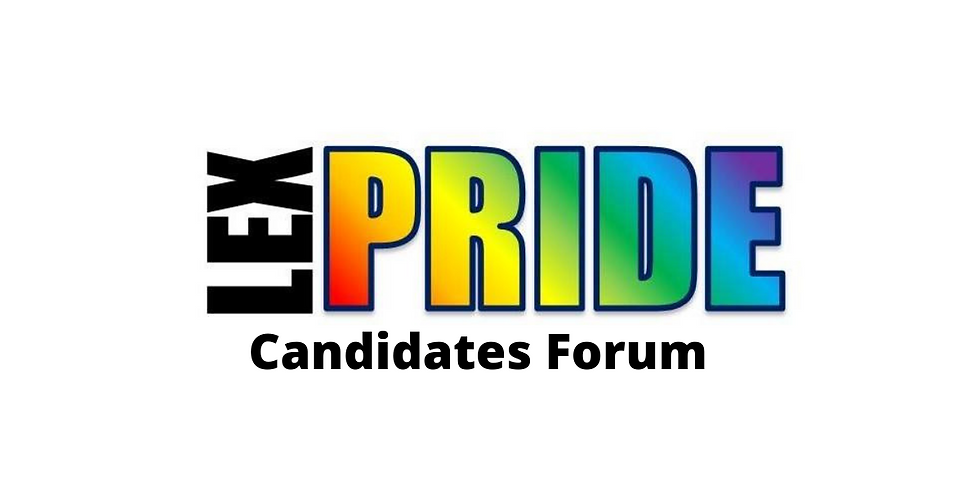 LexPride Candidates Forum on Social Justice