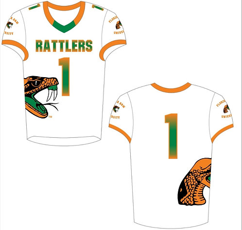 FAMU FOOTBALL JERSEY (WHITE)