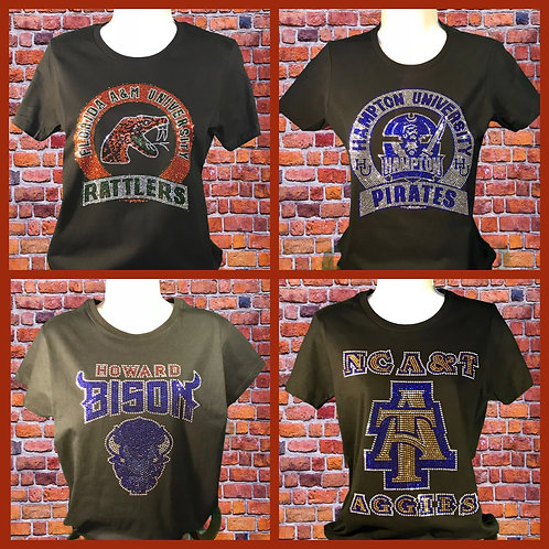 "HBCUs ""Bling"" T-shirt"